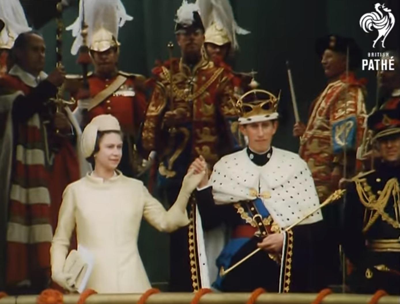 Książę Karol i królowa Elżbieta
