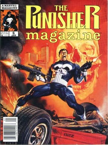 Punisher Magazine vol. 1 #6