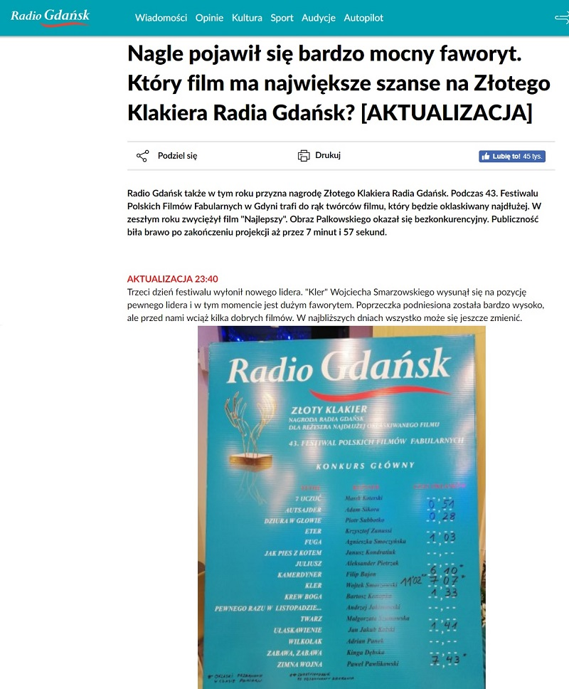 Radio Gdańsk o Klerze