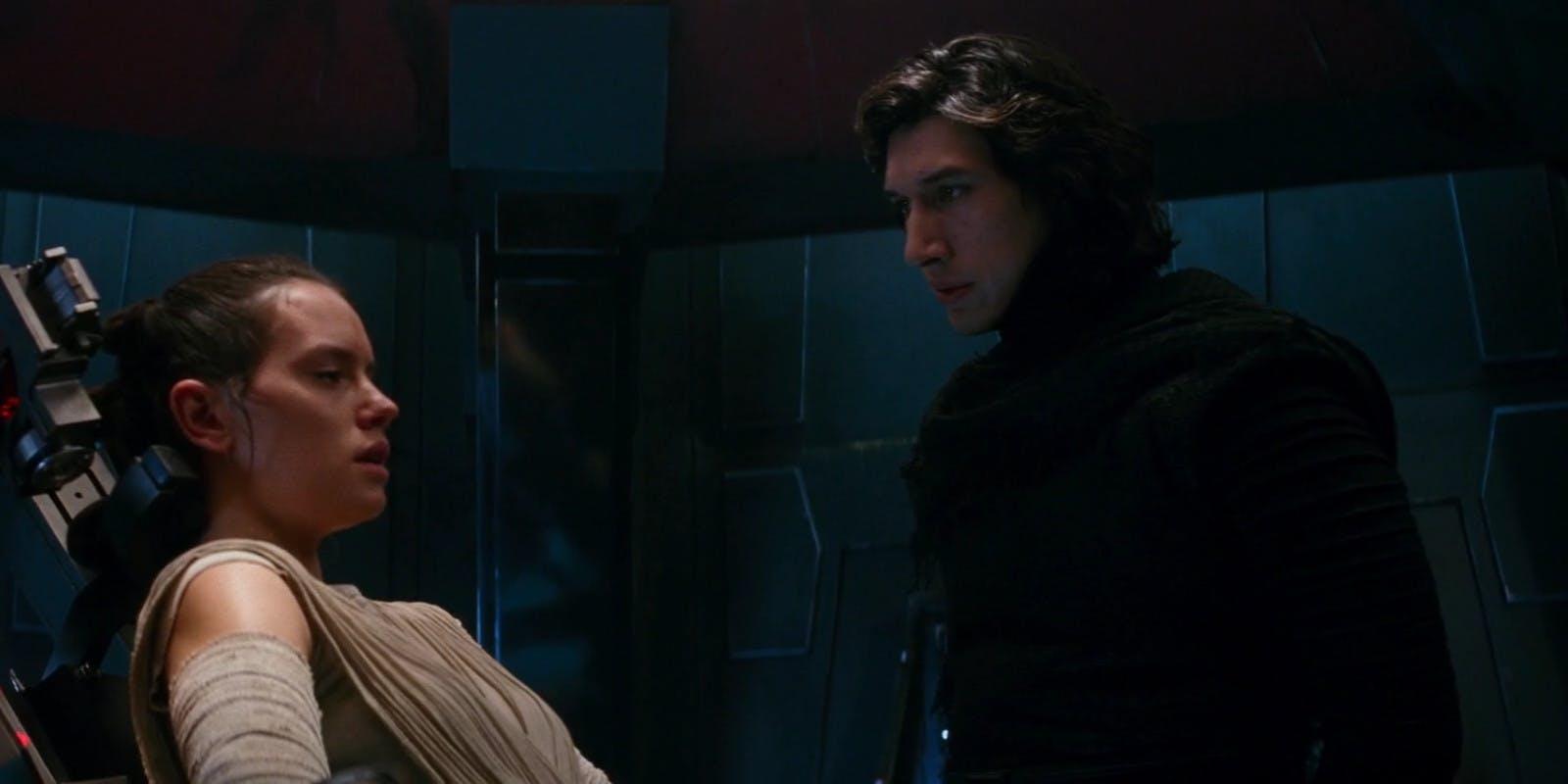 Rey i Kylo Ren