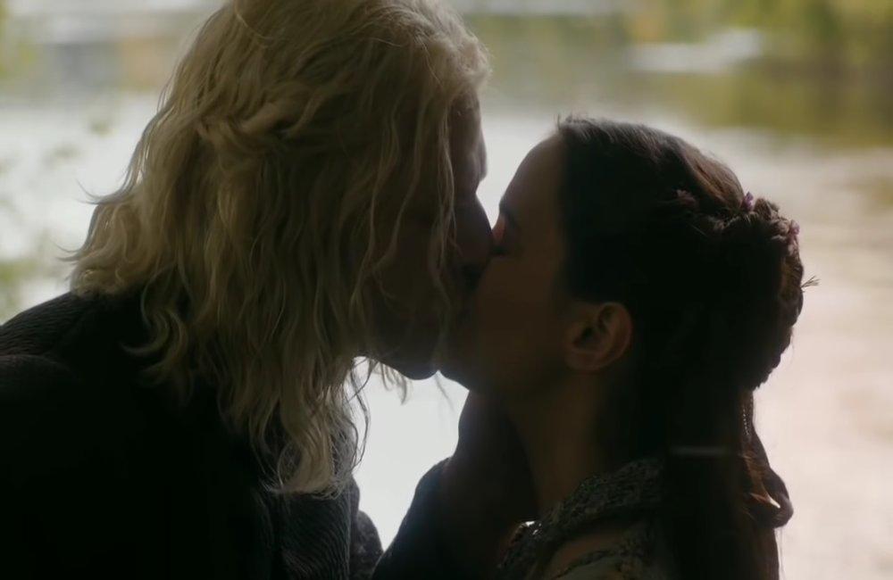 """Rhaegar i Lyanna, foto: kadr z serialu """"Gra o tron"""""""