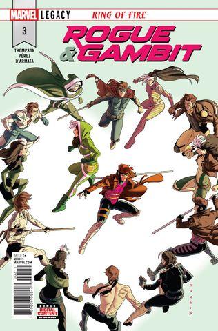Rogue and Gambit #3 - okładka
