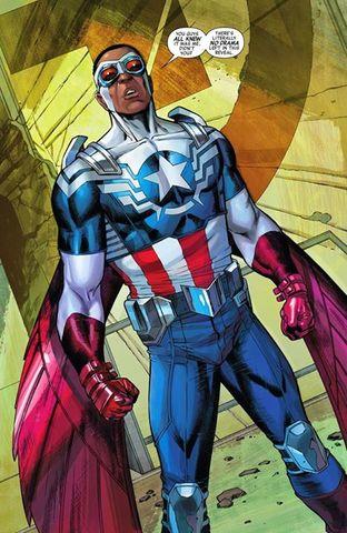 Sam Wilson jako Kapitan Ameryka