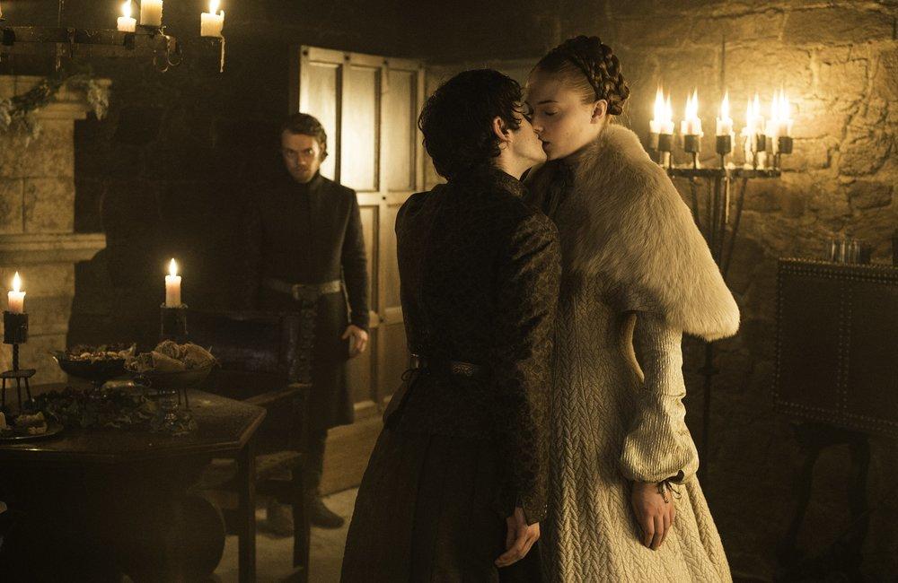Sansa Stark i Ramsay Bolton, foto: materiały prasowe