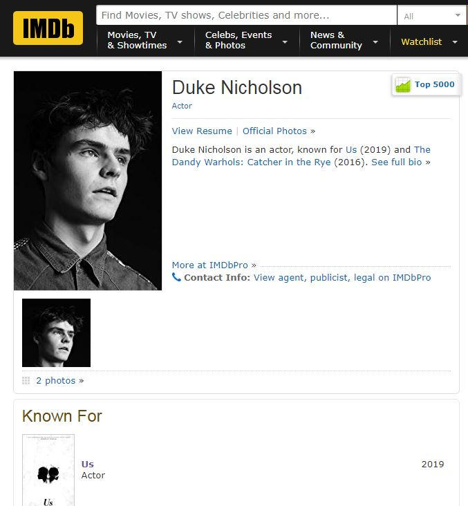 Duke Nicholson