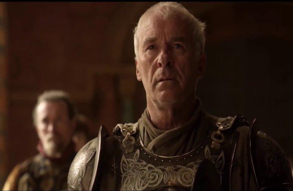 "ser Barristan Selmy, foto: kadr z serialu ""Gra o tron"""