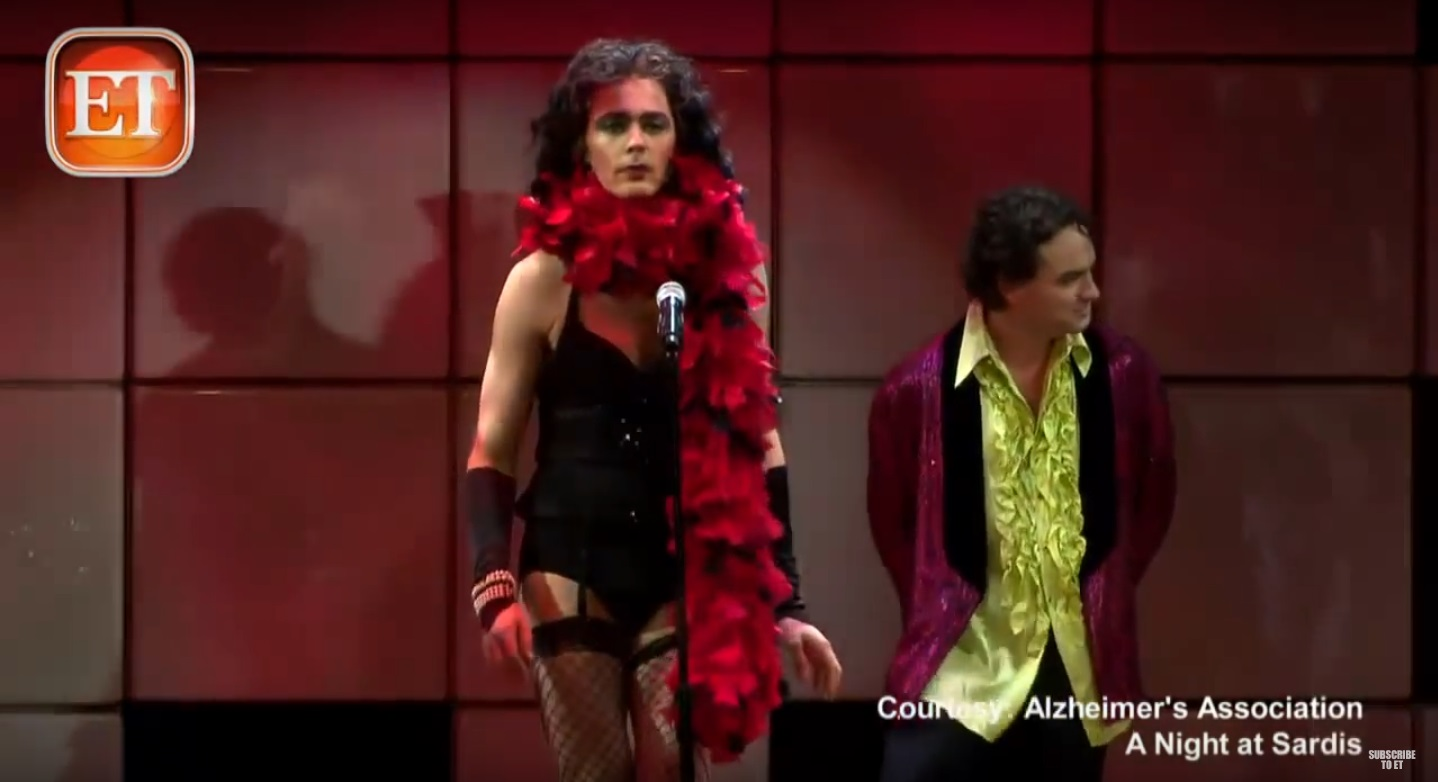 sheldon w the rocky horror picture show