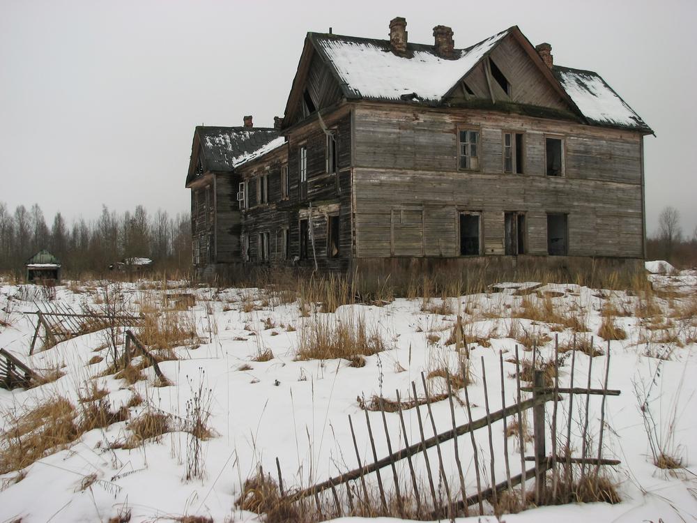 Opuszczony dom