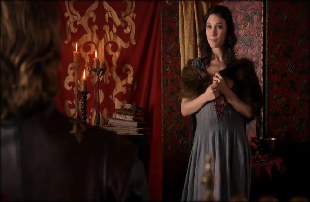 """Sibel Kekilli jako Shae w """"Grze o tron"""", foto: Kadr z serialu"""