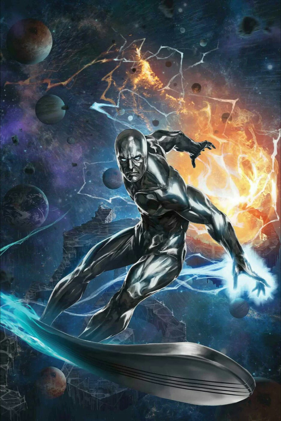 Silver Surfer The Best Defense #1