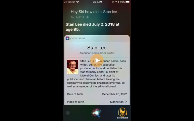 śmierć Stana Lee