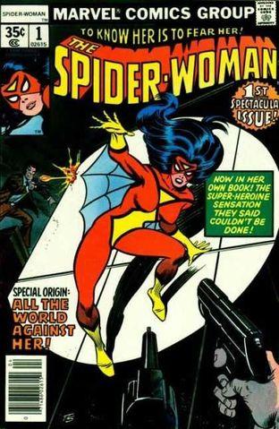 Spider-Woman vol.1 #1 - okładka