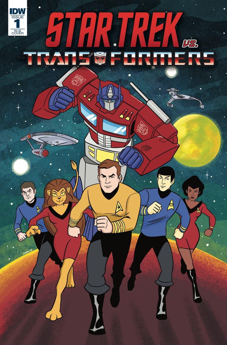 """Star Trek vs. Transformers"" #1"