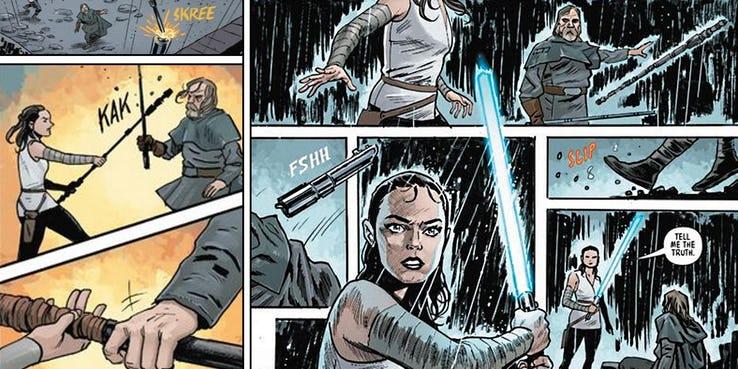Star Wars: The Last Jedi Adaptation #4