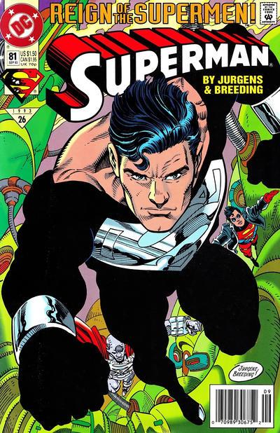 Superman vol. 2 #81