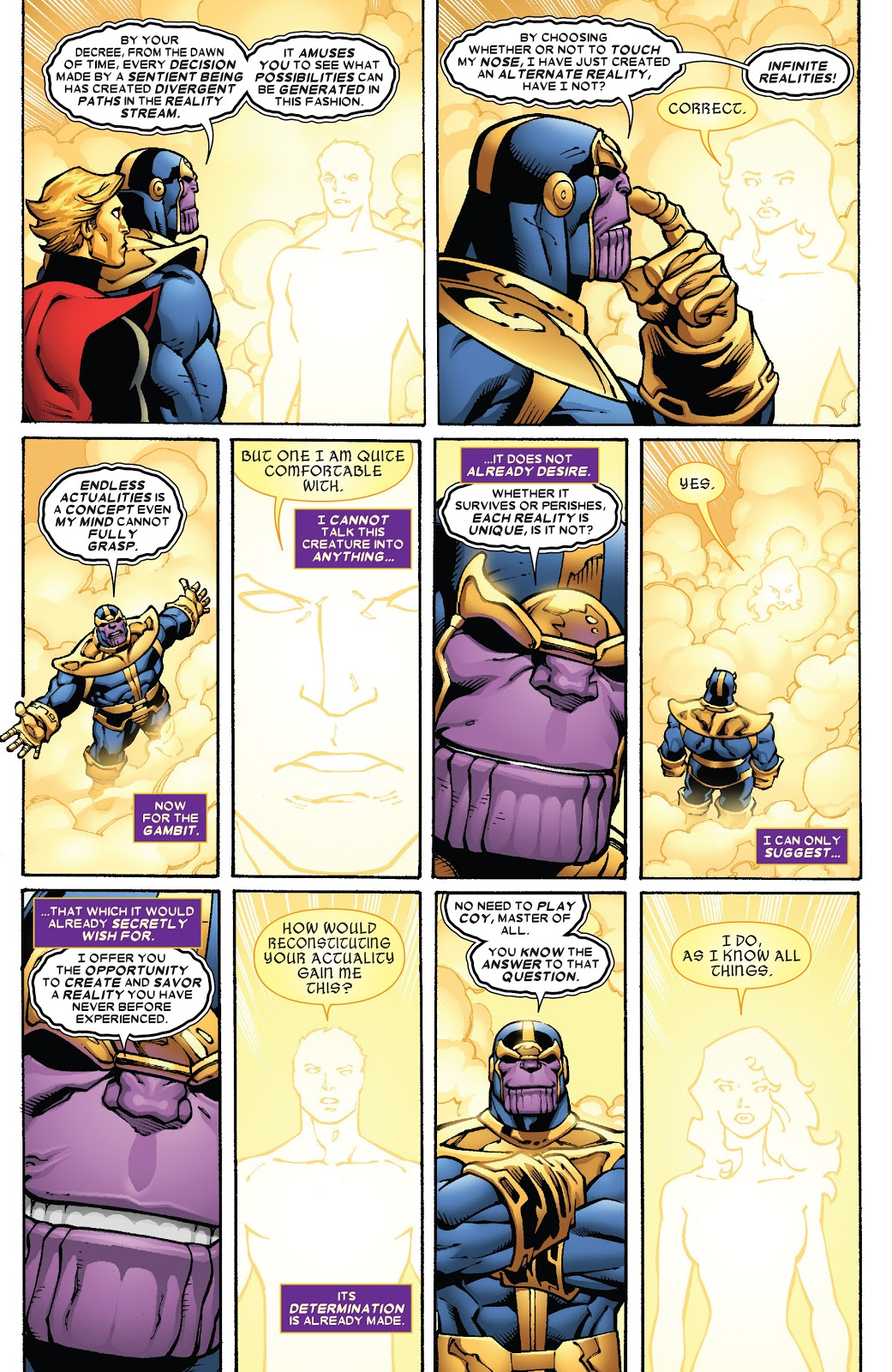 Thanos The Infinity Finale