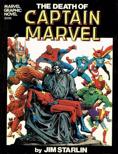 The Death of Captain Marvel, 1982