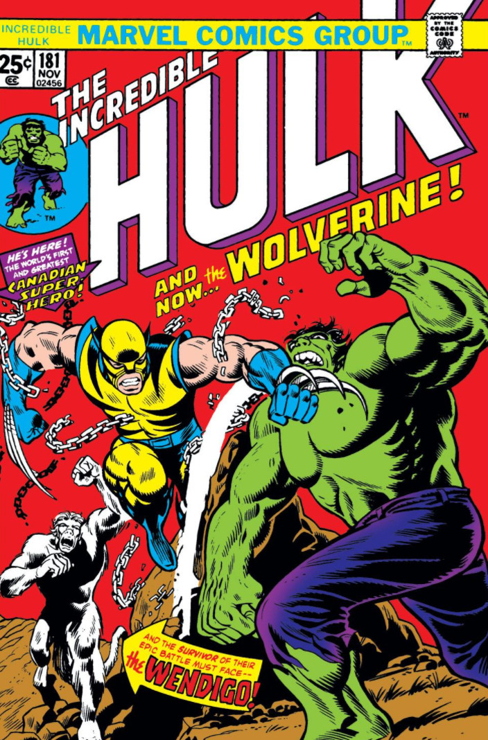 The Incredible Hulk #181 - okładka