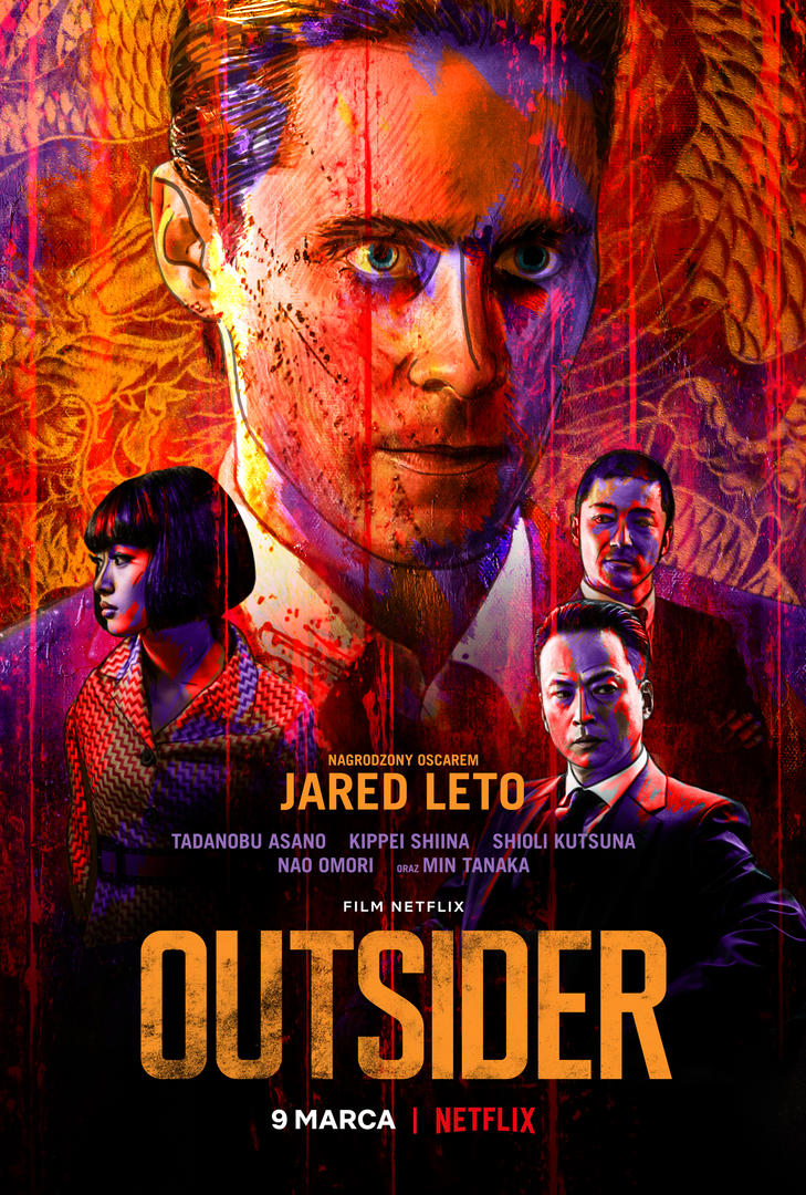 Outsider Netflix plakat