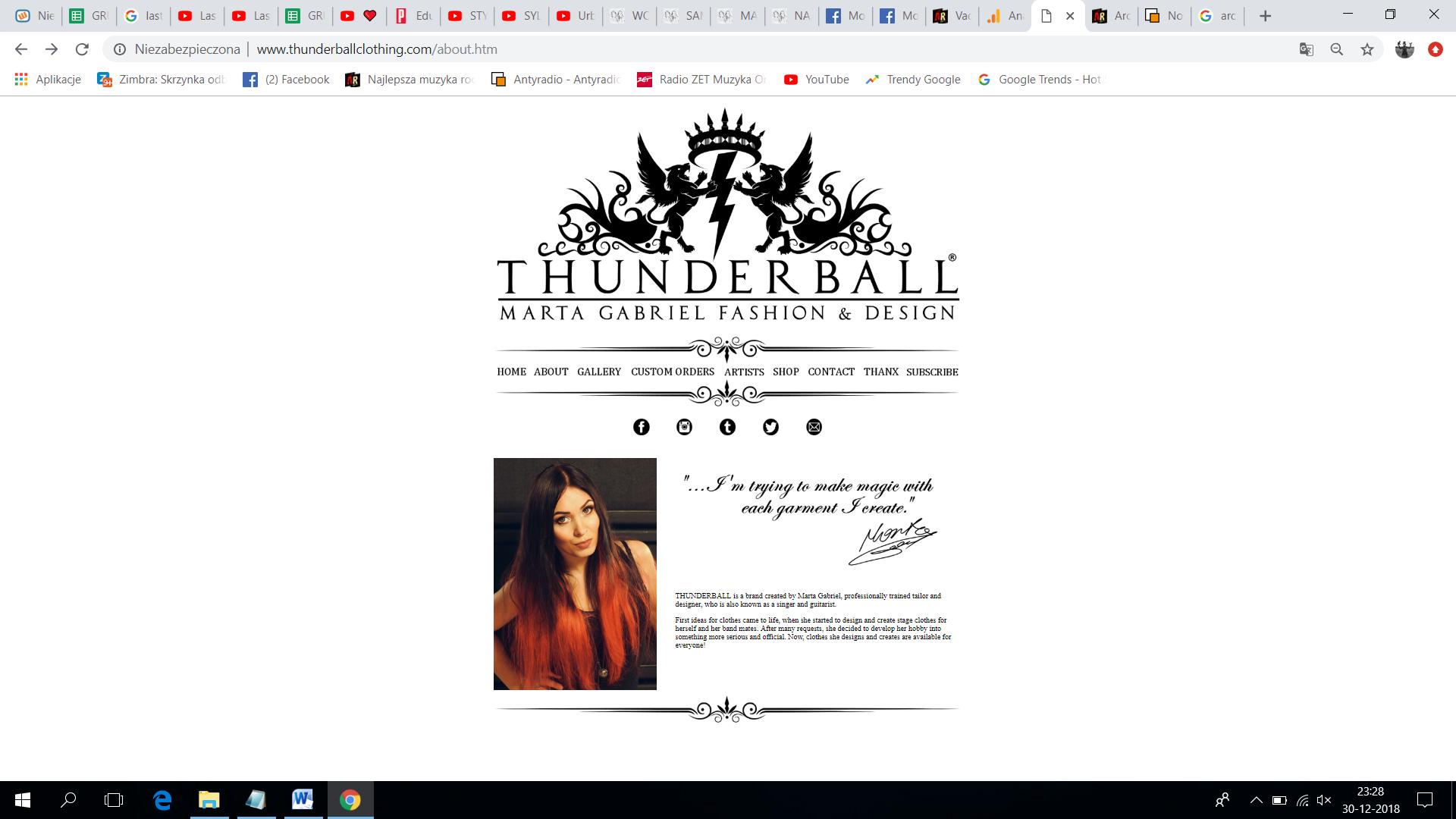 Thunderball Clothing1