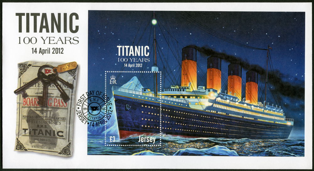Titanic - znaczek pocztowy