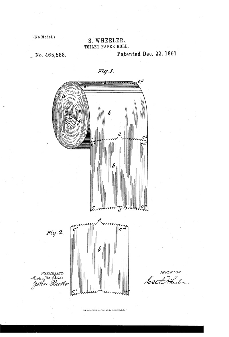Toilet-paper-roll-patent-US465588-0