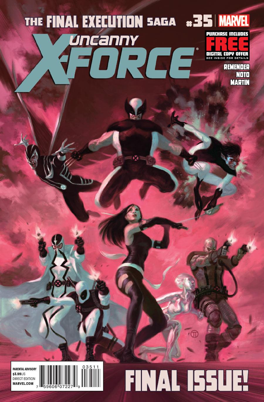Uncanny X-Force vol. 1 #35