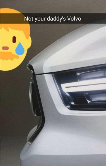 Volvo snapchat