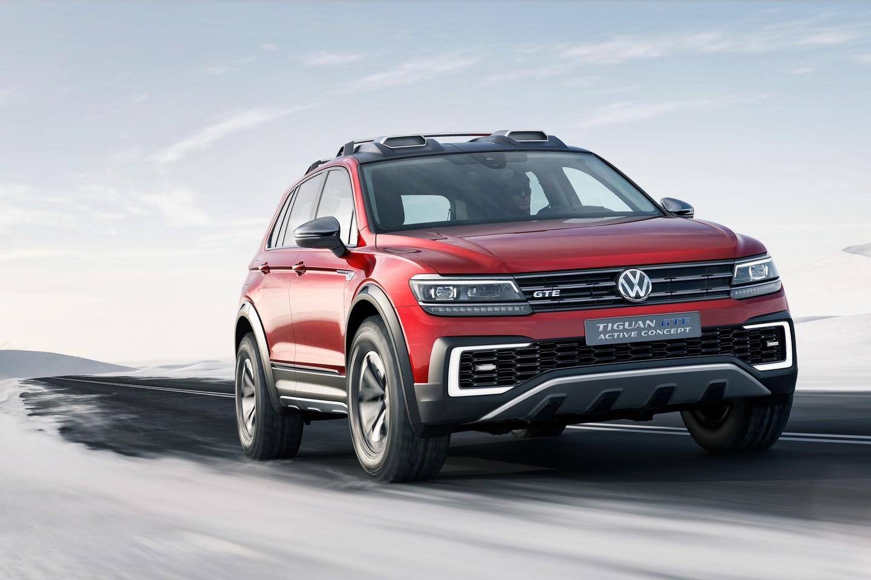 VW Tiguan Active Concept