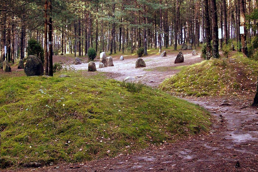 Kamienny krąg w Węsiorach