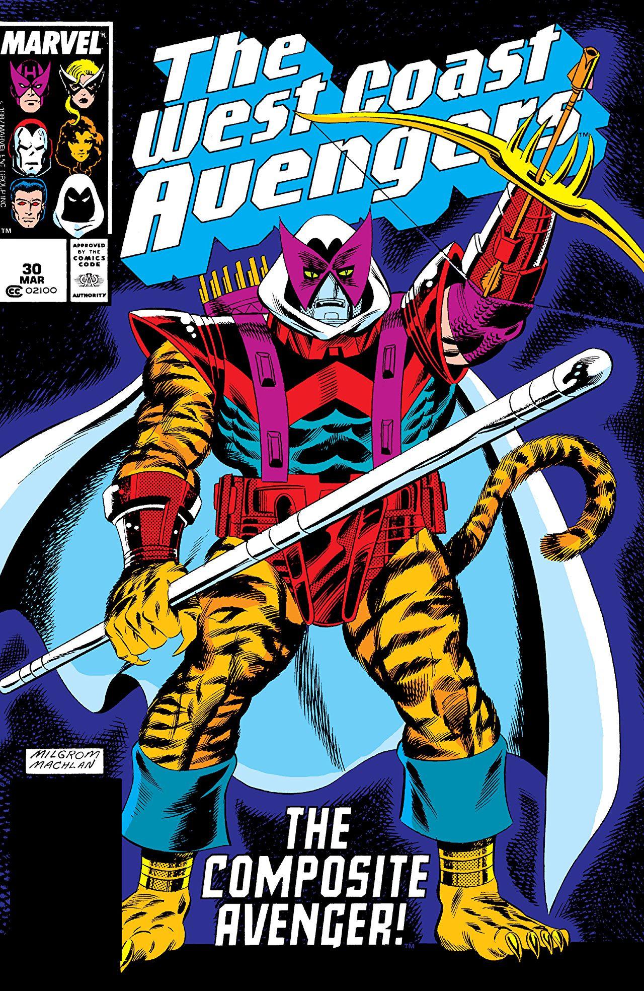 West Coast Avengers vol. 1 #30