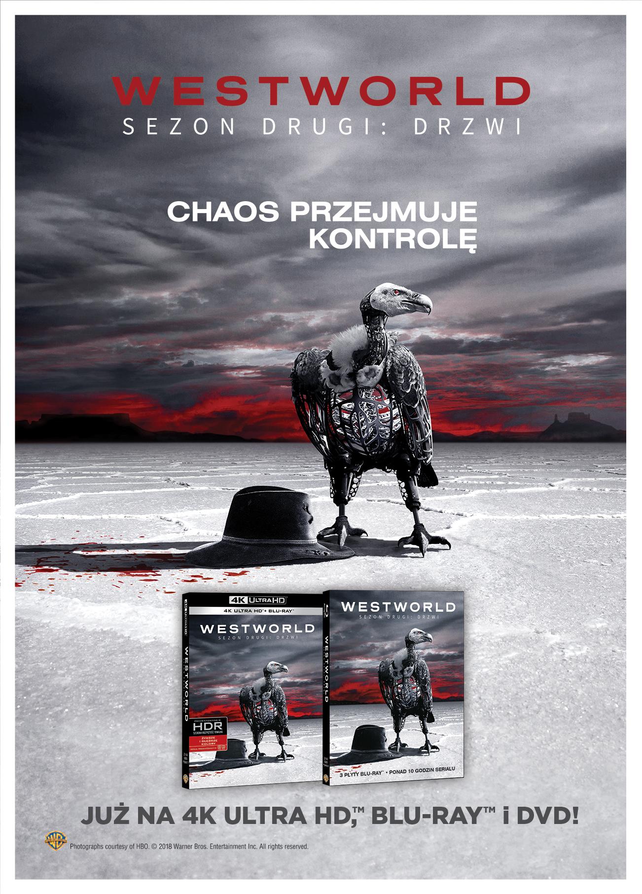 Westworld 2 na dvd blu ray