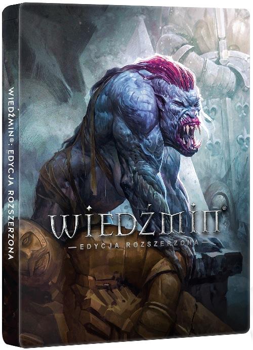Wiedźmin - steelbook