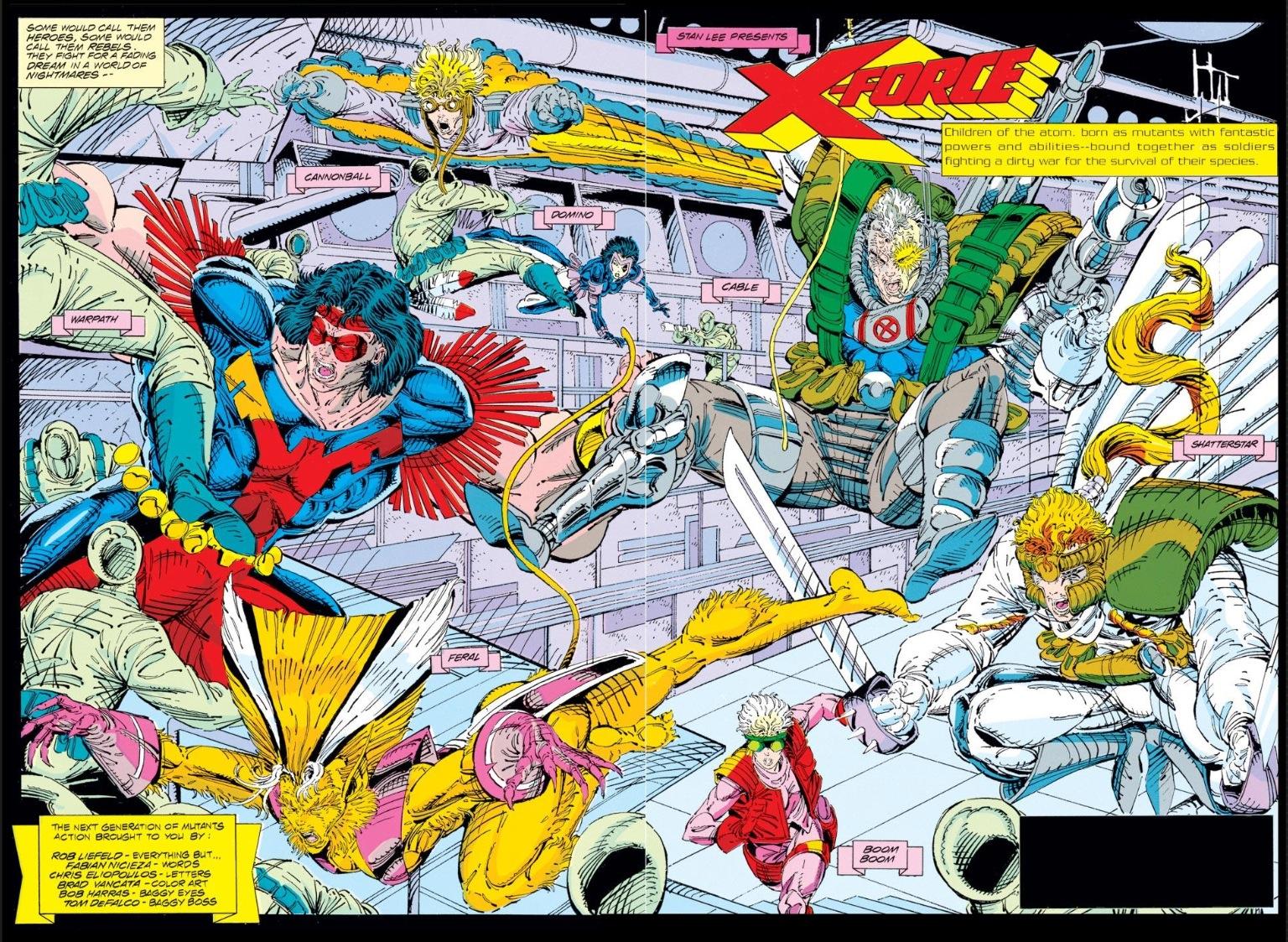X-Force vol. 1 #1