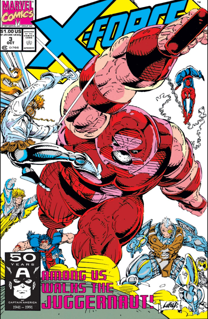 X-Force vol. 1 #3