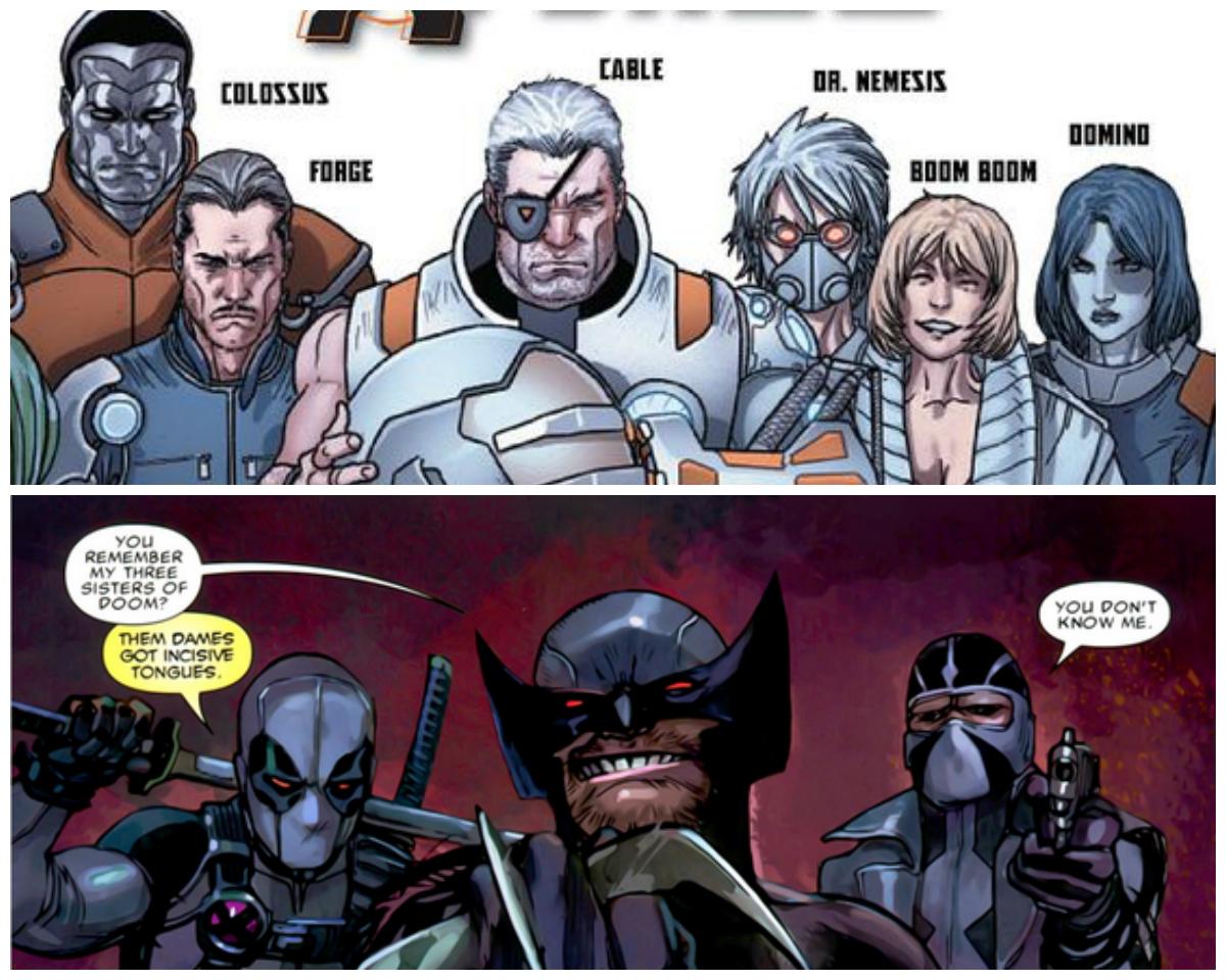X-Force - obie drużyny o tej nazwie