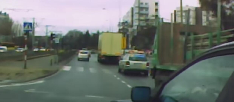 12 minut zdarzeń drogowych jednego kierowcy
