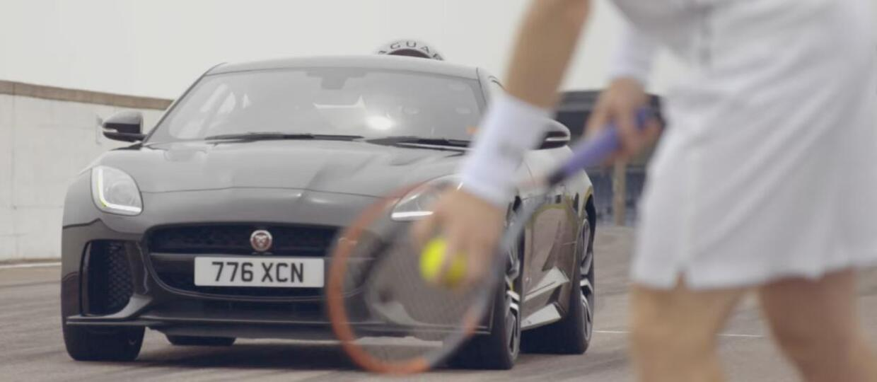 Andy Murray kontra Jaguar