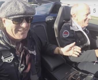 Brian Johnson pochwalił się swoim Jaguarem F-Type Project 7