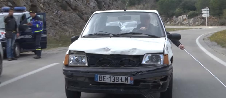 Co zrobisz widząc niewidomego za kierownicą?