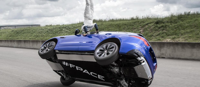 Cyrkowe popisy Jaguara F-Pace'a