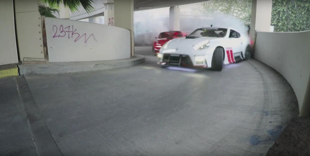 Drift w Nissanach 370Z – lepiej od Kena Blocka?