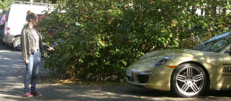 Egzamin na prawo jazdy w Porsche 911