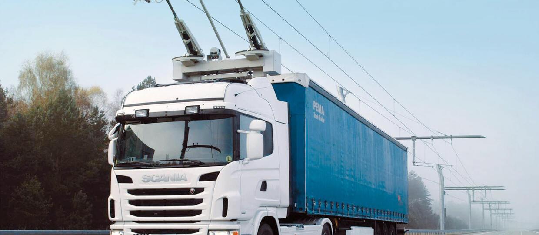 Elektryczne ciężarówki będą wyglądać jak trolejbusy?