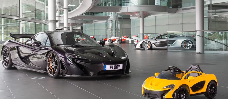 Elektryczny McLaren P1 dla 6-latków