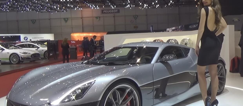 Hostessy na Geneva Motor Show 2016