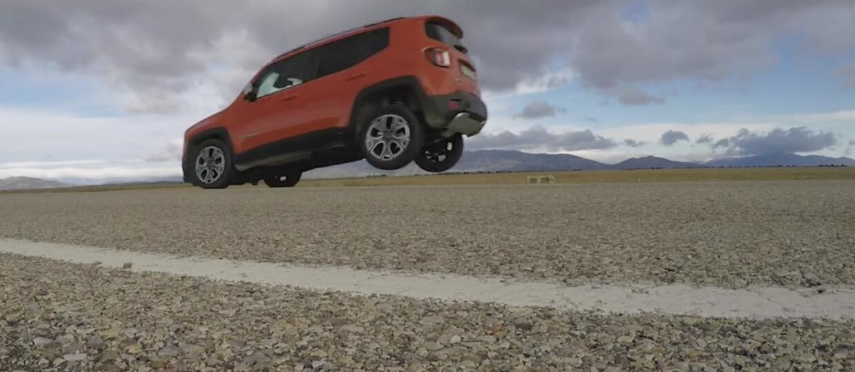 Jeep Renegade niebezpieczny przy ostrym hamowaniu