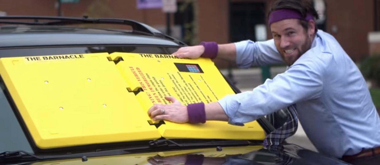 Karne blokady za złe parkowanie trafią na szyby