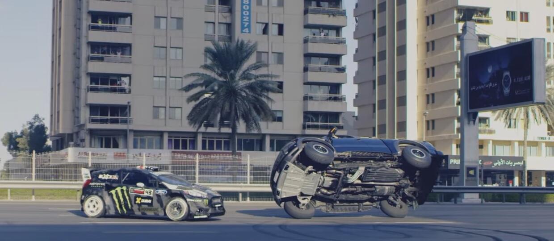 Ken Block w Gymkhanie 8 na ulicach Dubaju
