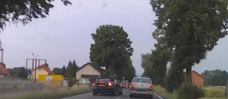 Kompilacja manewrów wyprzedzania w wydaniu Polaków
